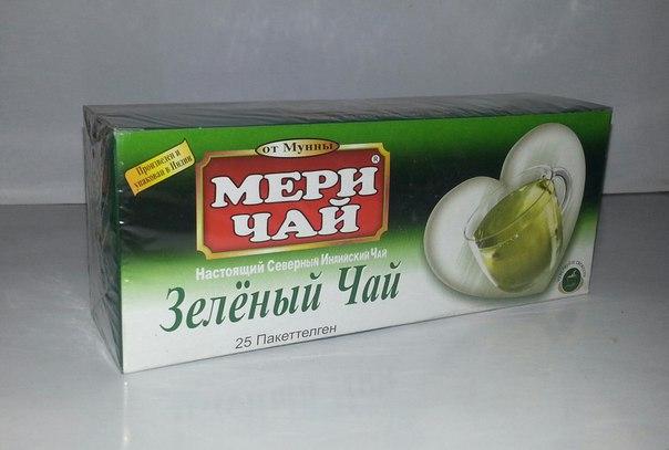 Купить Мери Чай зеленый 25 пакетиков оптом