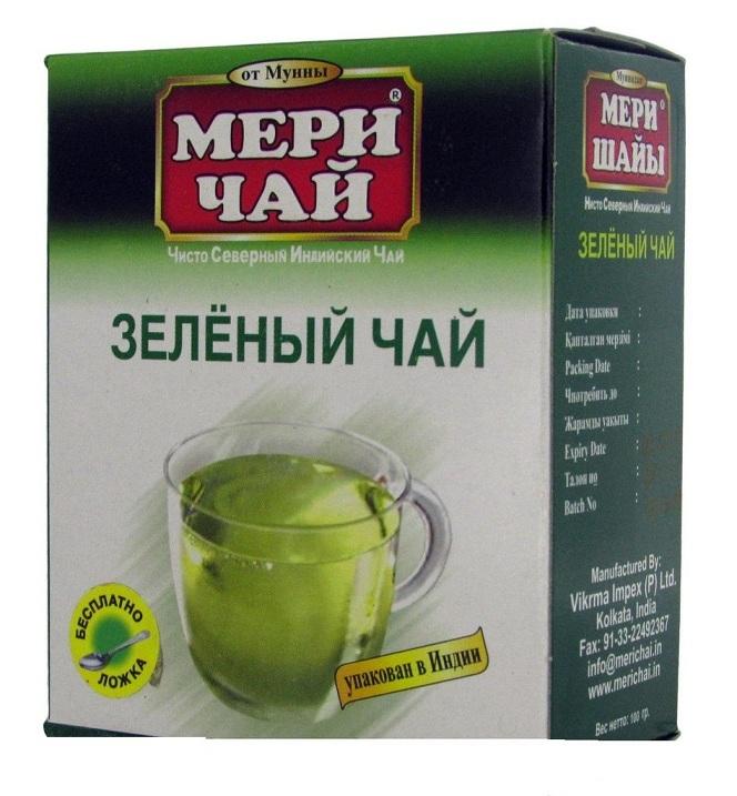 Купить Мери Чай зеленый 100 грамм оптом