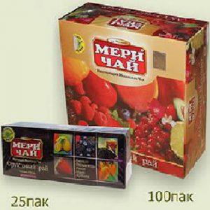 Мери Чай черный Ассорти 100 пакетиков упакован в Индии