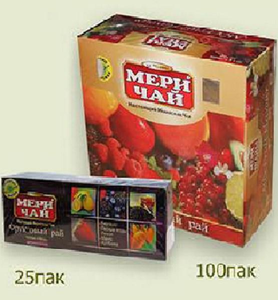 Мери Чай черный Ассорти 25 пакетиков упакован в Индии