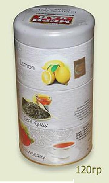 Мери Чай черный Ассорти 3 в 1 железная банка 120 грамм упакован в Индии