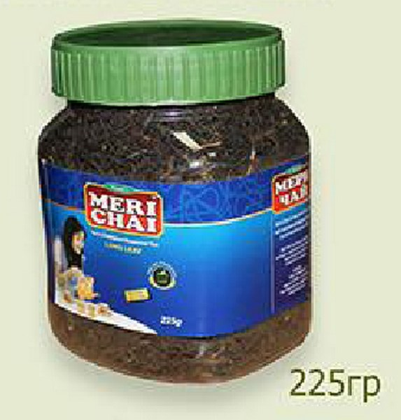 Мери Чай черный крупнолистовой 225 грамм в пластиковой банке