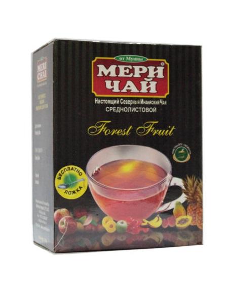 Мери Чай черный Лесные Ягоды 100 грамм упакован в Индии