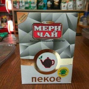 Мери Чай Пекое 100 грамм упакован в Индии