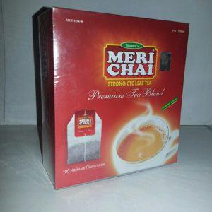 Мери Чай черный 100 пакетиков упакован в Индии