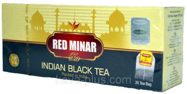 Мери Чай черный 25 пакетиков упакован в Индии Ред Минар 25 пакетиков