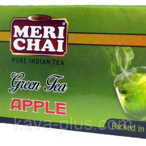 Мери Чай зеленый Яблоко 25 пакетиков упакован в Индии