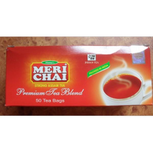 Мери Чай черный 25 пакетиков без ложки упакован в Индии