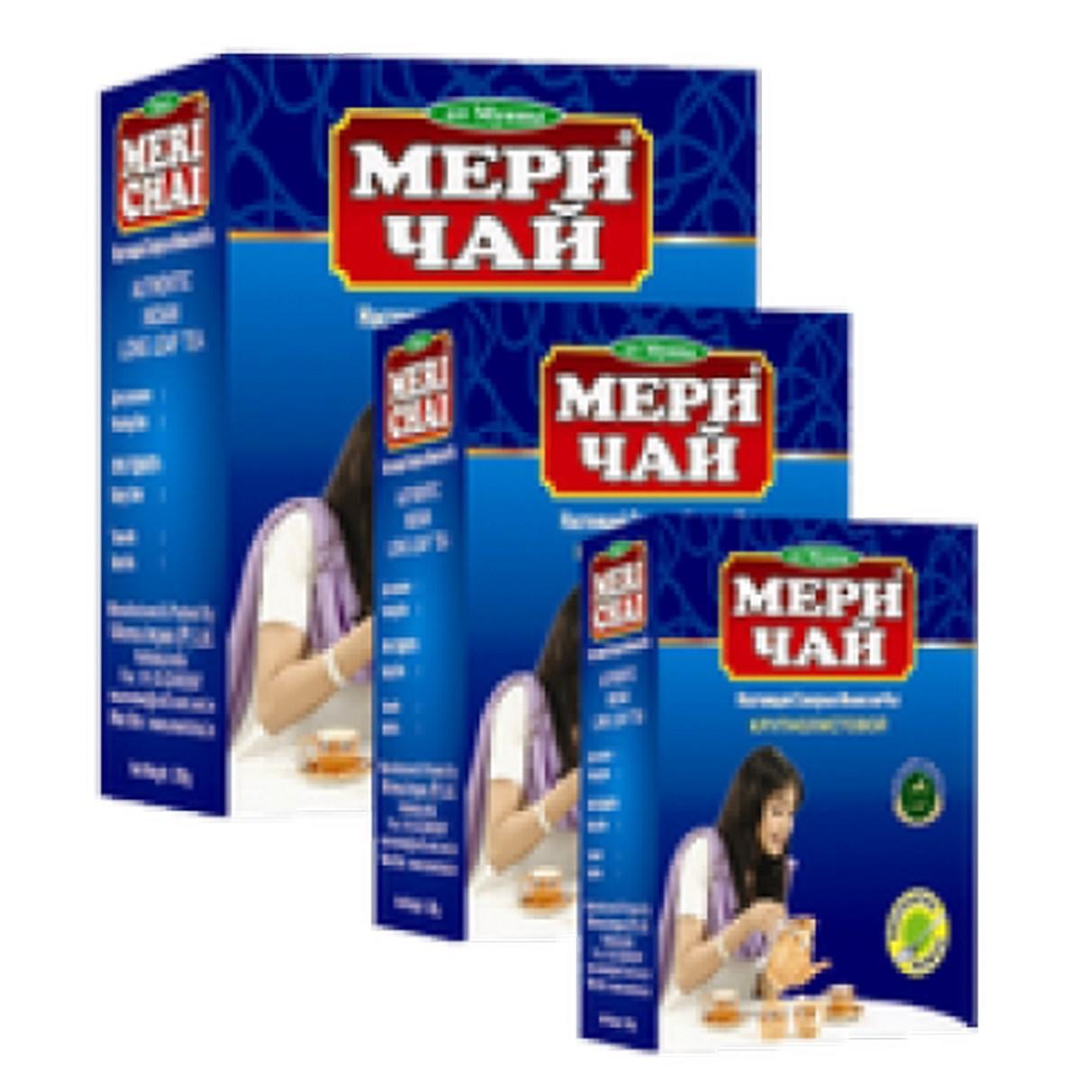 Мери Чай черный крупнолистовой 500 грамм + чашка